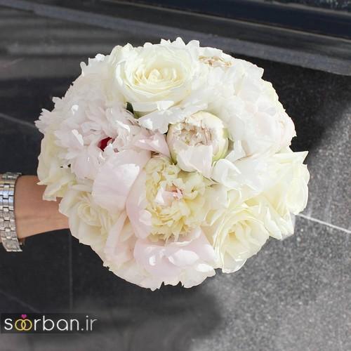 دسته گل عروس جدید ایرانی 96 2017