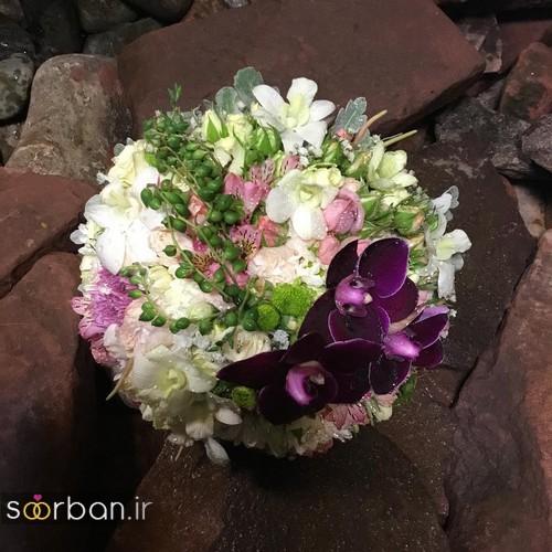 دسته گل عروس جدید ایرانی 96 متفاوت