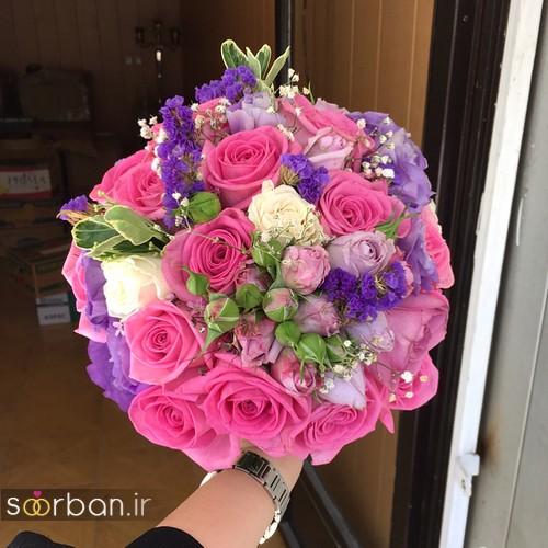 دسته گل عروس جدید ایرانی 96 و 2017