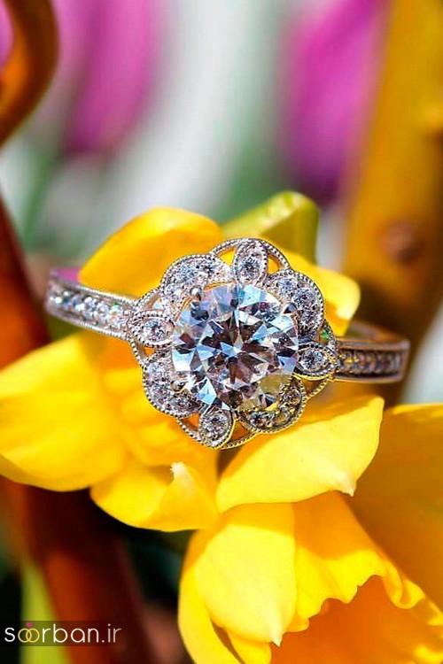زیباترین حلقه های نامزدی و ازدواج 2018-5