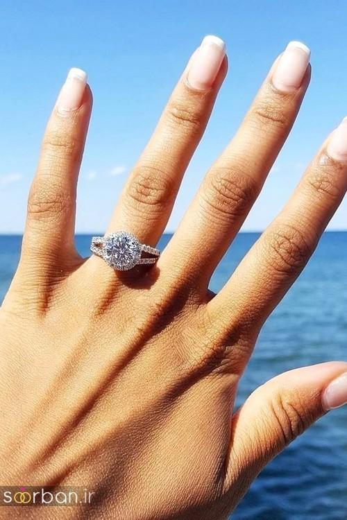 زیباترین حلقه های نامزدی و ازدواج 2018-07