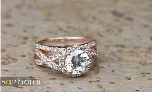 زیباترین حلقه های نامزدی و ازدواج 2018-9