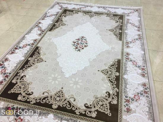 جدیدترین مدل های فرش ترک جهیزیه عروس -5