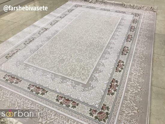 جدیدترین مدل های فرش ترک جهیزیه عروس -9