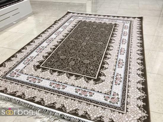 جدیدترین مدل های فرش ترک جهیزیه عروس -10