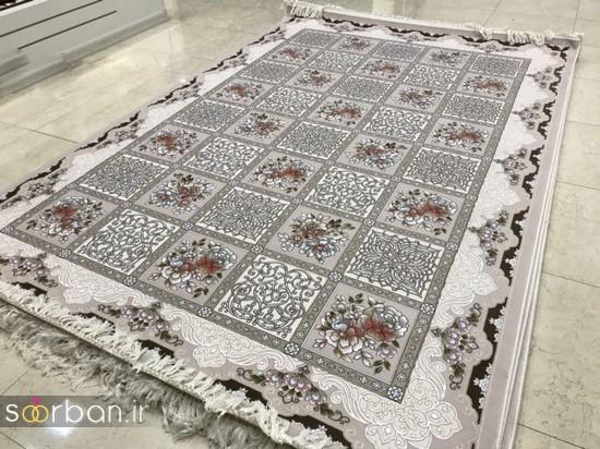 جدیدترین مدل های فرش ترک جهیزیه عروس -12