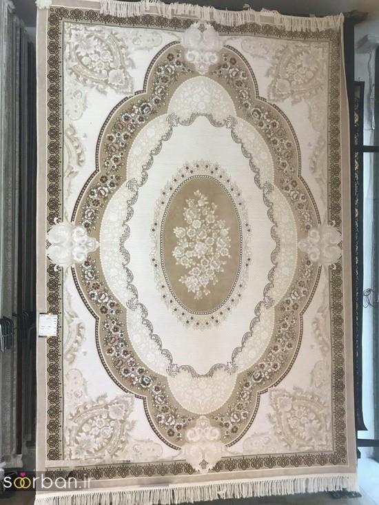 جدیدترین مدل های فرش ترک جهیزیه عروس -13