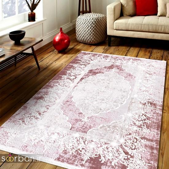 جدیدترین مدل های فرش ترک جهیزیه عروس -19