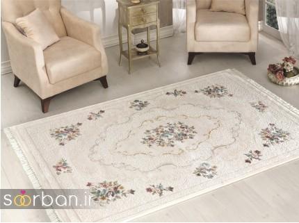 جدیدترین مدل های فرش ترک جهیزیه عروس -21