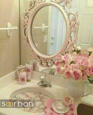 تزیین رمانتیک حمام عروس-13