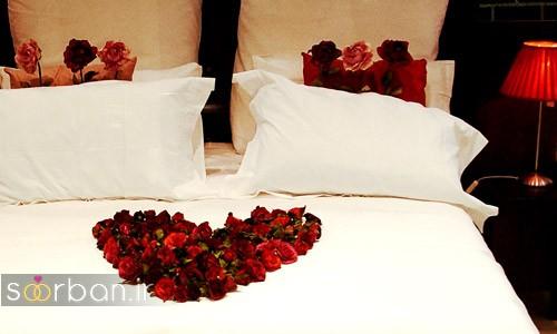 چیدمان و تزیین اتاق خواب جهیزیه عروس-2