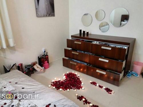 چیدمان و تزیین اتاق خواب جهیزیه عروس-4