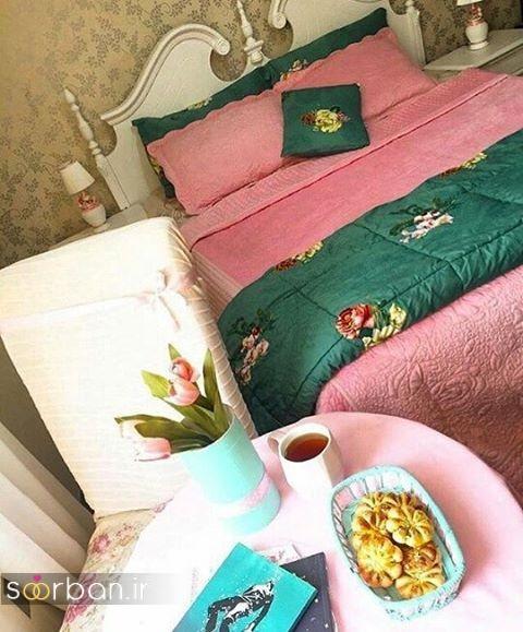 چیدمان و تزیین اتاق خواب جهیزیه عروس-19