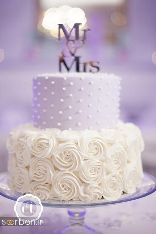 کیک عروسی رمانتیک و زیبا 2017-13