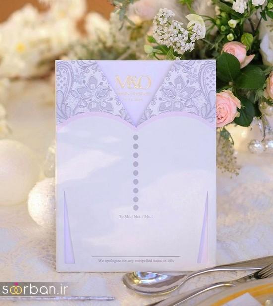 جدیدترین کارت های عروسی 2018 لوکس و خاص -6