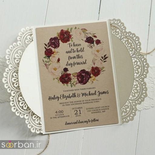 جدیدترین کارت های عروسی 2018 لوکس و خاص -18