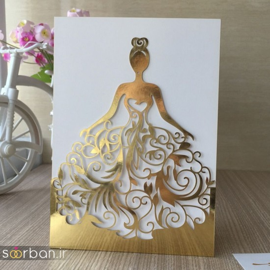کارت عروسی | جدیدترین مدل های کارت عروسی لوکس و خاص -6