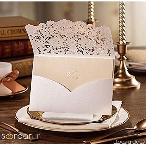 کارت عروسی | جدیدترین مدل های کارت عروسی لوکس و خاص -8