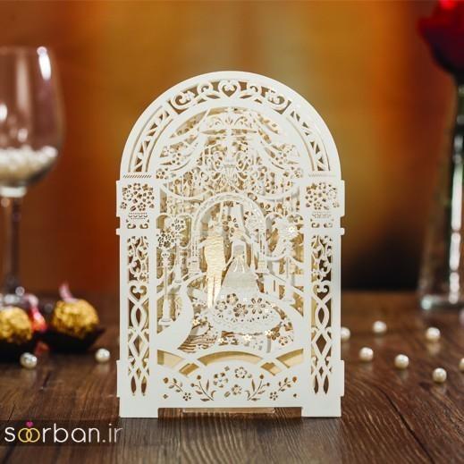 کارت عروسی | جدیدترین مدل های کارت عروسی لوکس و خاص -9