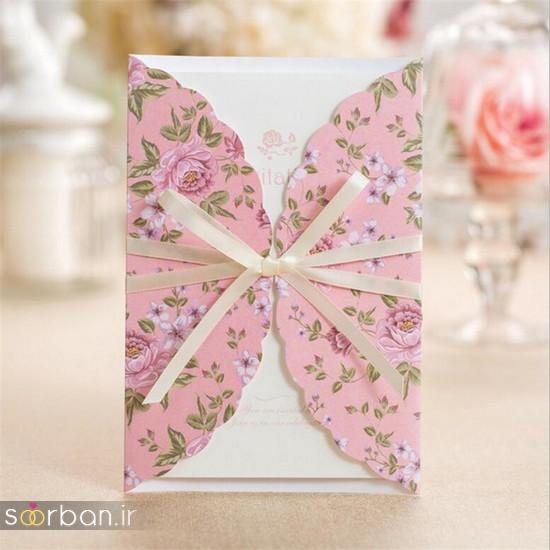 کارت عروسی | جدیدترین مدل های کارت عروسی لوکس و خاص -15
