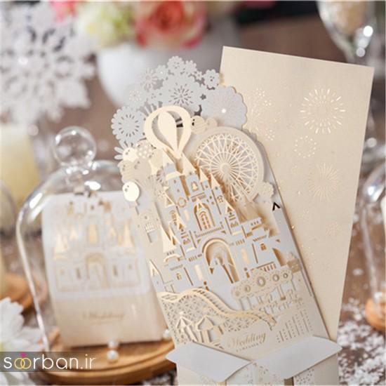 کارت عروسی | جدیدترین مدل های کارت عروسی لوکس و خاص -16