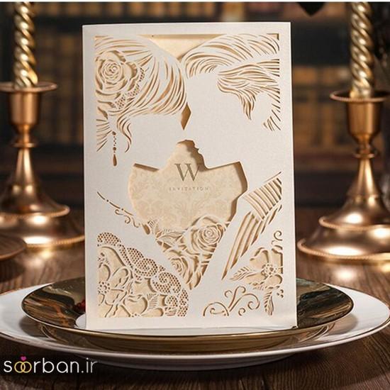 کارت عروسی | جدیدترین مدل های کارت عروسی لوکس و خاص -18
