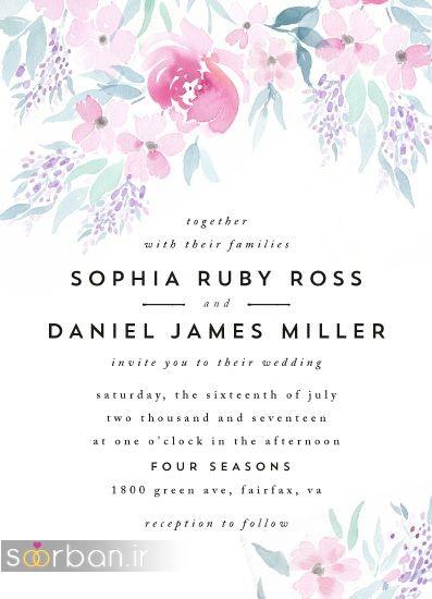 کارت عروسی فانتزی و زیبا-21