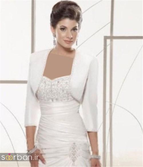 کت و شنل لباس عروسی جدید و شیک
