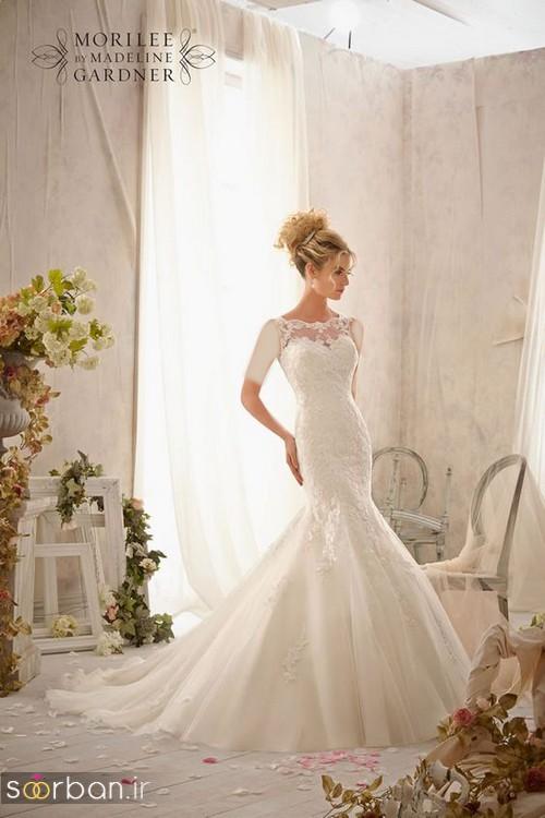 قیمت لباس عروس طرح ماهی
