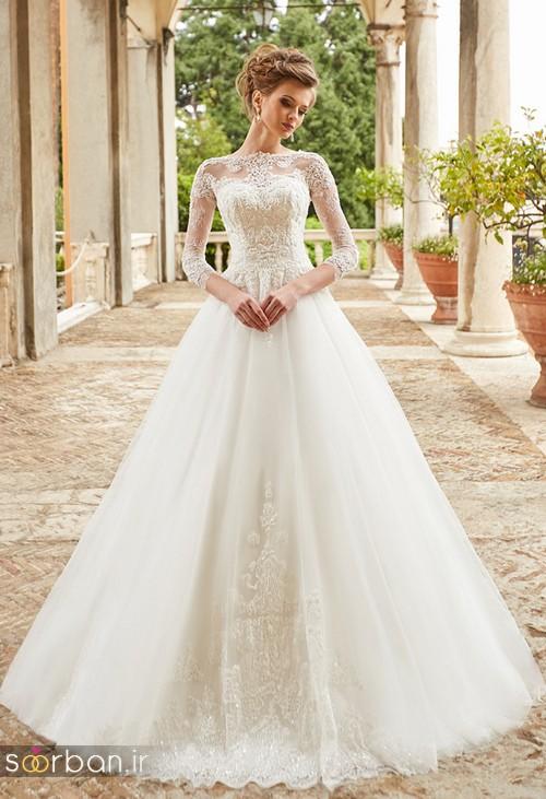 مدل لباس عروس جدید 2018 و سال 97 پوشیده