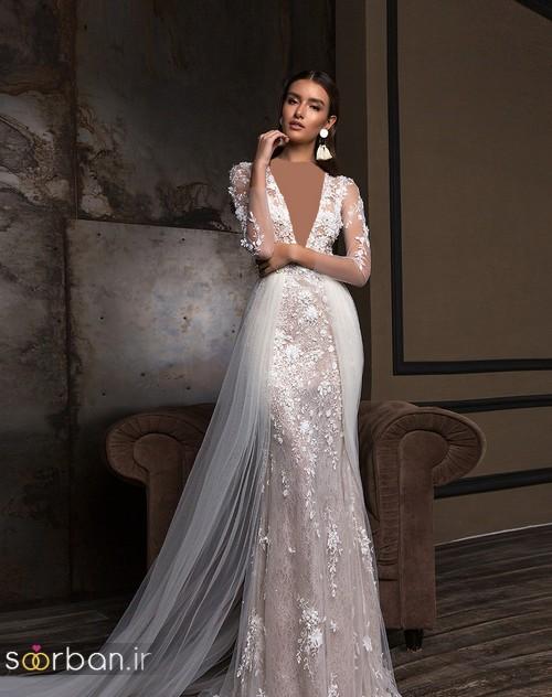 مدل لباس عروس جدید 2018 و سال 97 جدید-17