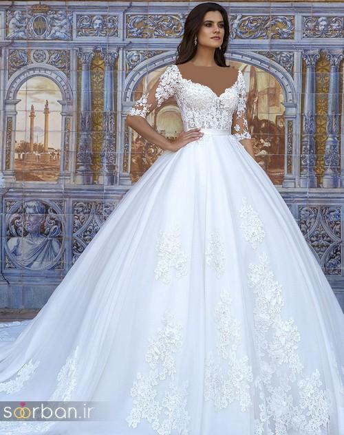 مدل لباس عروس جدید 2018 و سال 97 جدیدزیبا