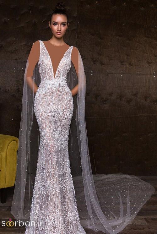 مدل لباس عروس جدید 2018 و سال 97 جدید با تور