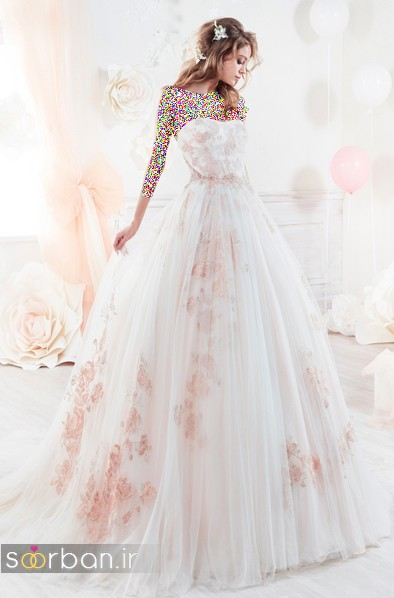 عکس لباس عروس پفی 2018 شیک و جدید