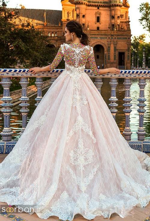 مدل لباس عروسی پرنسسی جدید شیک و بسیار زیبا