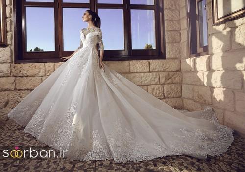 عکس مدل مدل لباس عروسی پرنسسی جدید شیک و مدرن