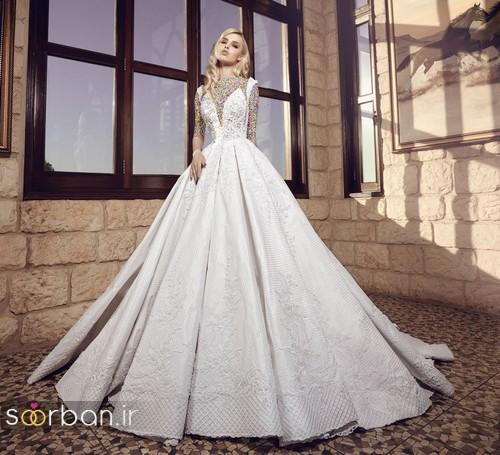 مدل لباس عروسی پرنسسی جدید شیک و جدید