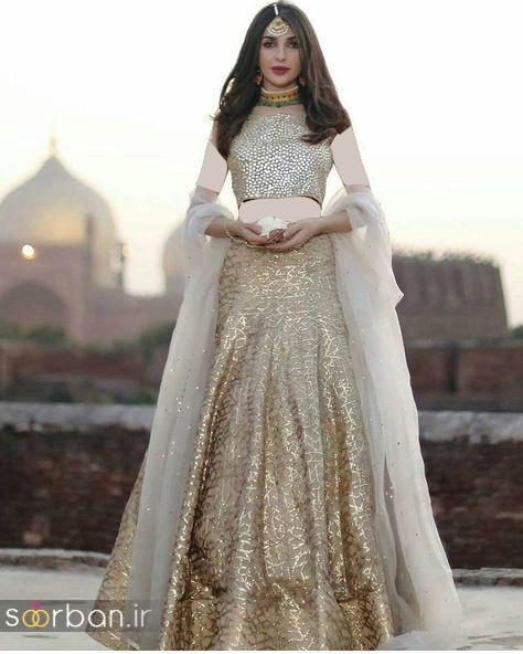 عکس لباس عروس هندی