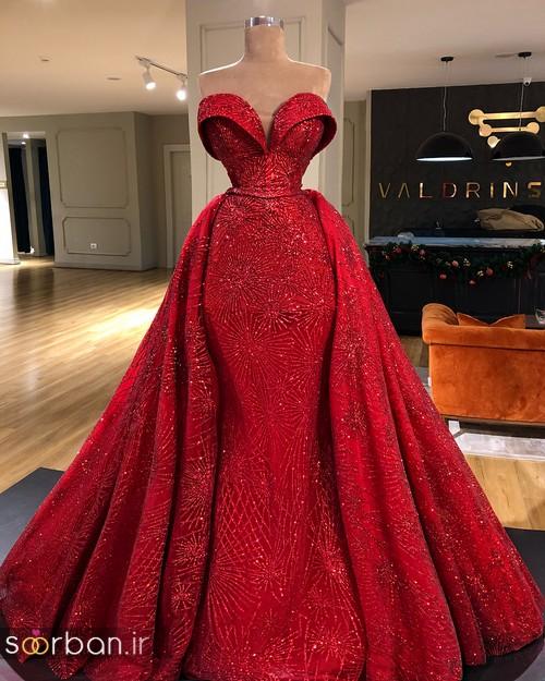 مدل لباس حنابندان، عقد و نامزدی قرمز صورتی و طلایی
