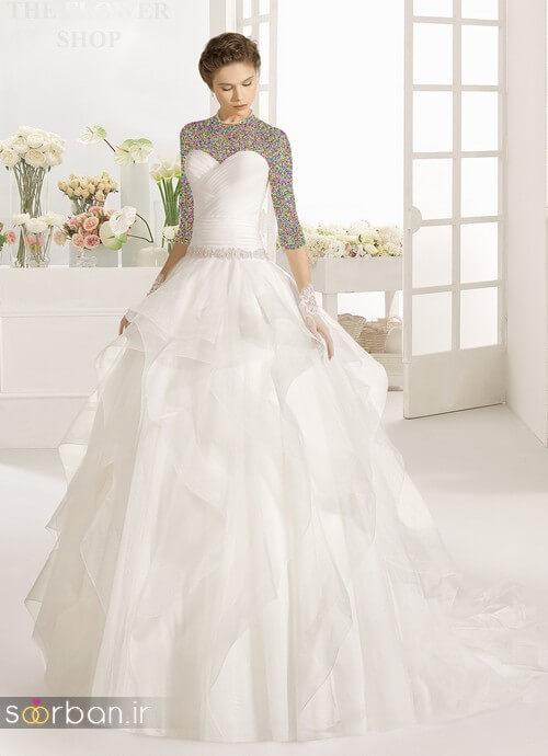 لباس عروسی جدید و شیک5