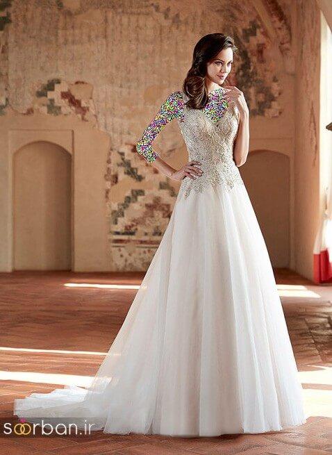 لباس عروسی جدید و شیک10