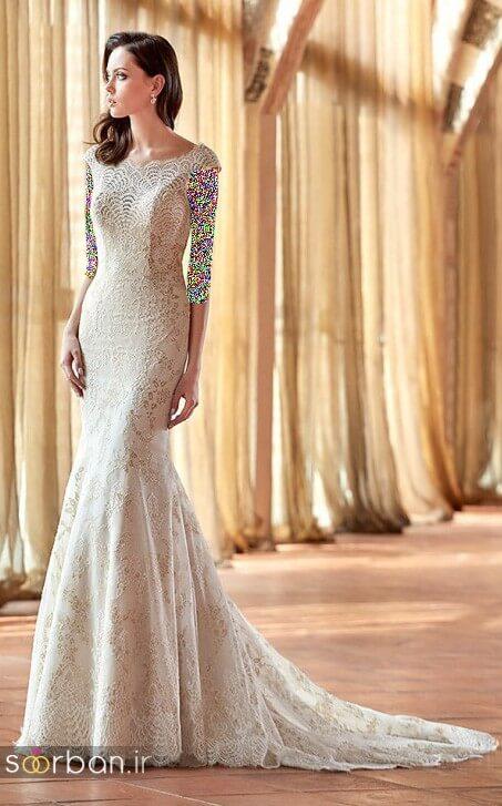 لباس عروسی جدید و شیک13