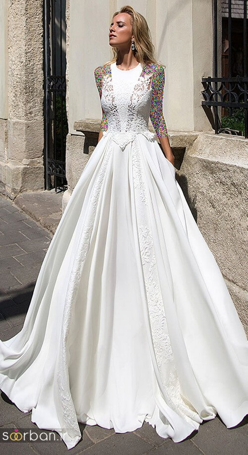لباس عروسی جدید و شیک 96