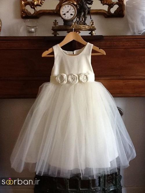 لباس عروس بچه گانه3