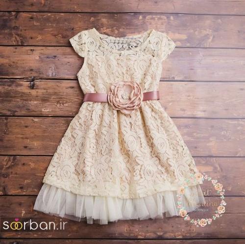 لباس عروس بچه گانه8