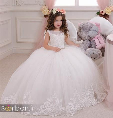 لباس عروس بچه گانه11