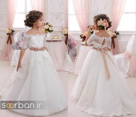 لباس عروس بچه گانه19