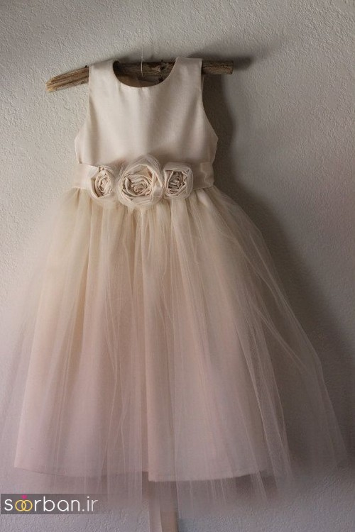لباس عروس بچه گانه22
