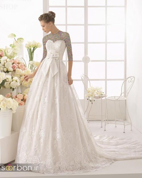 لباس عروس دانتل3