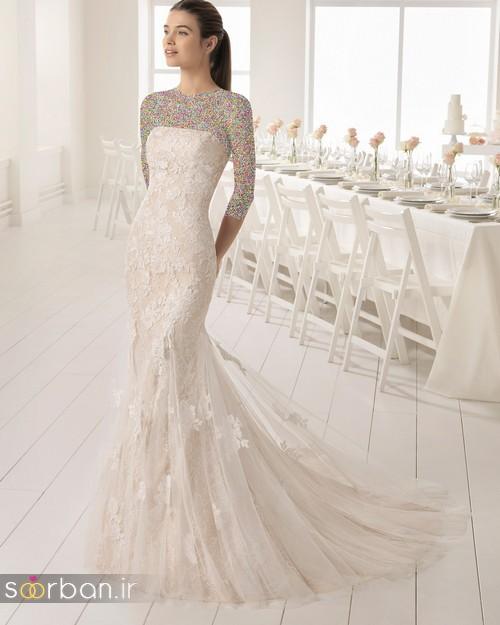لباس عروس دانتل8